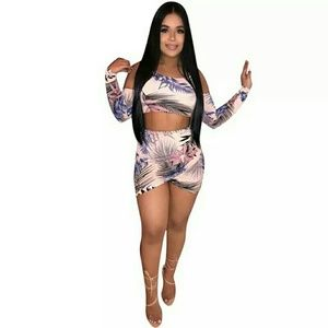 Brand new two piece floral summer outfit